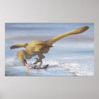 Deinonychus Sushitryck Poster