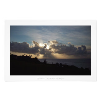"""Dekor """"för Sunbeams"""" Kauai natur Fototryck"""