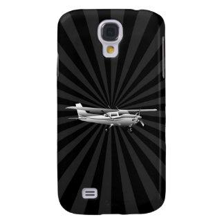 Dekor för Sunburst för flyg för flygplanCessna Galaxy S4 Fodral