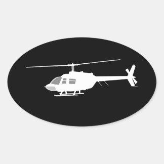Dekor för svart för flyg för ovalt klistermärke