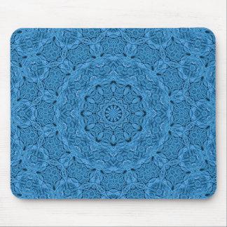 Dekorativ blåttvintage färgrika Mousepad Musmatta
