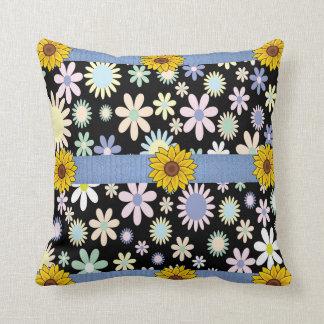 dekorativ kudde decore blommigt