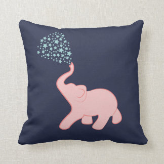 Dekorativ kudde för dusch för babyelefantstjärna