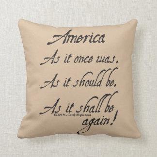 """""""Dekorativ kudde för en amerikanrostat bröd"""""""