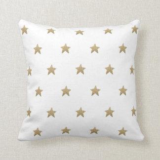 Dekorativ kudde för Fauxglitterstjärnor | dämpar