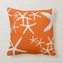 Dekorativ kudde för orange sjöstjärna för Persimmo