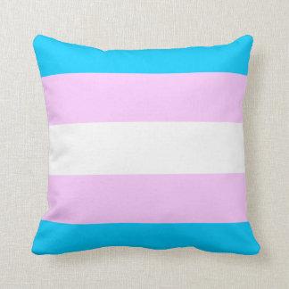 Dekorativ kudde för Transgenderprideflagga