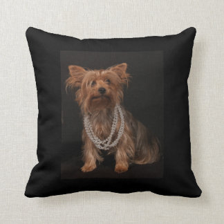 Dekorativ kudde för Yorkshire Terrier