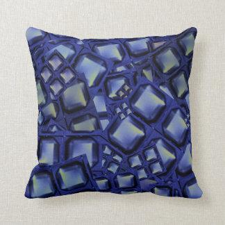 Dekorativ kuddeblått knäppas romanska gåvor för kudde