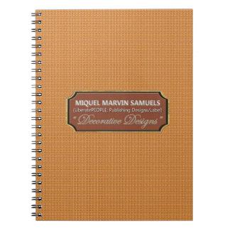 Dekorativ modern anteckningsbok för Buttercups