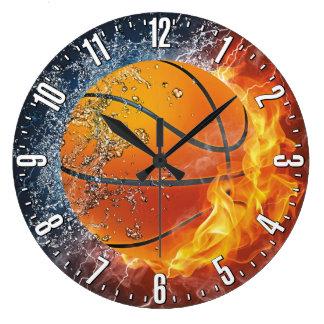 Dekorativ vägg för basket stor klocka