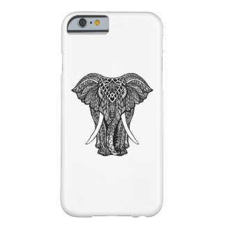 Dekorativ Zendoodle elefantillustration Barely There iPhone 6 Fodral