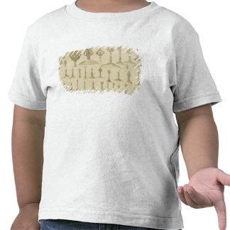 Dekorativa knoppar som formas som kupoler och mina tshirts
