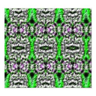 Dekorativt abstrakt mönster fototryck