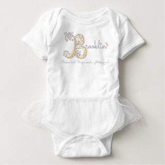 Dekorativt beställnings- menande för Brooklin T-shirt