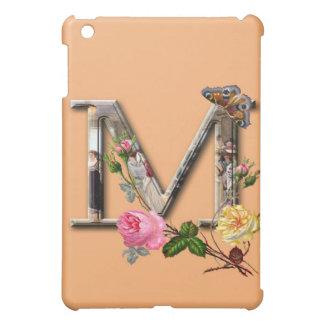 "Dekorativt brev initialt ""M"", iPad Mini Mobil Skal"