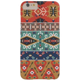 Dekorativt färgrikt mönster i aztec stil barely there iPhone 6 plus fodral