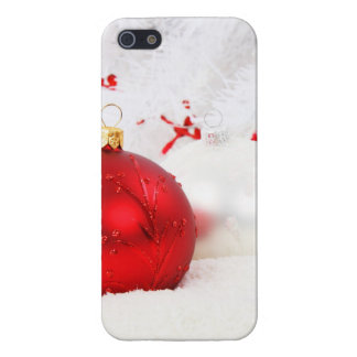 Dekorativt festligt för jul iPhone 5 skydd