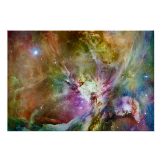 Dekorativt foto för utrymme för Orion Nebulagalax Poster