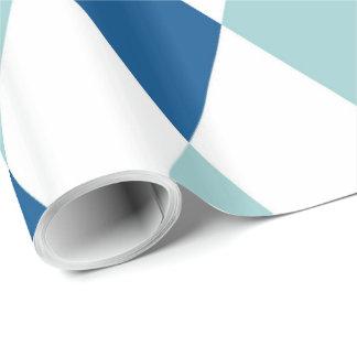 Dekorativt geometriskt belägger med tegel det presentpapper