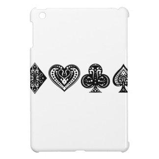 Dekorativt kortfölje iPad mini skal