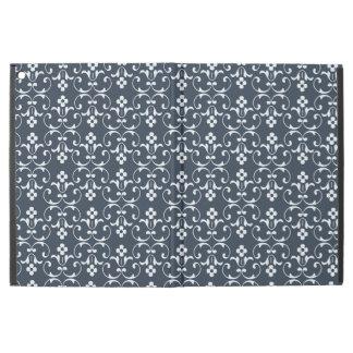 """Dekorativt mönster för blått iPad pro 12.9"""" skal"""
