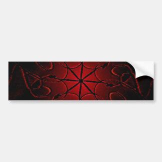 Dekorativt Mystic symbol Bildekal