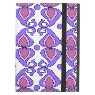 Dekorativt rosa- och lilaPaisley mönster Fodral För iPad Air
