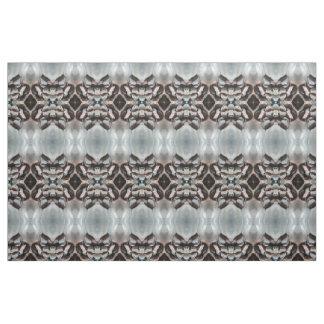 dekorativt svart tyg för grå färgvitdiamanter