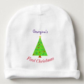 Dekorerad julgran + Baby första jul