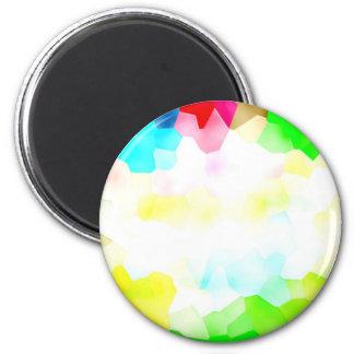 Del av ljust och färg magnet