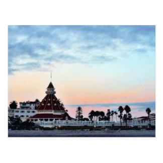 Del Coronado solnedgång Vykort
