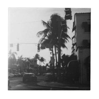 Del Stråle Sätta på land Florida fotograferar Kakelplatta