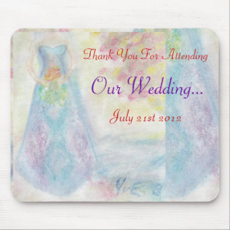 Dela detta speciella dagbröllop mig mus mattor