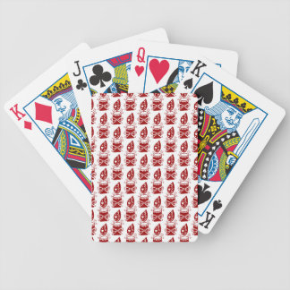 Dela glädjen av jul spelkort