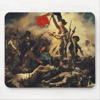 Delacroix,Liberty Leading the People (1830) Musmatta