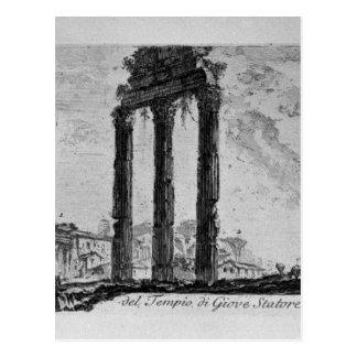 Delar av fora av Nerva av Giovanni Battista Vykort