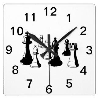 Delar vintagekonst #2 för schack fyrkantig klocka