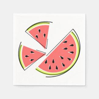 Delart servettpapper för vattenmelon servett