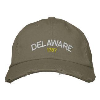 Delaware 1787 broderad hatt broderad keps
