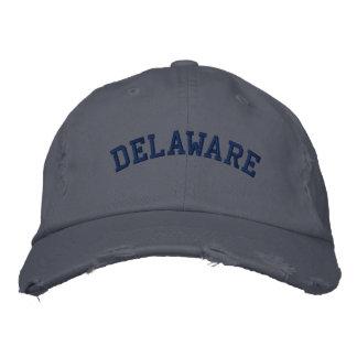 Delaware broderade bekymrade lockSkottland blått Broderad Keps