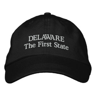 Delaware det första statligt broderad keps