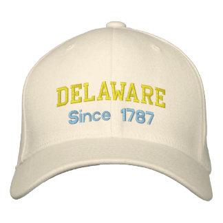 Delaware efter lock 1787 broderad keps
