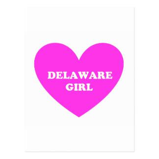 Delaware flicka vykort