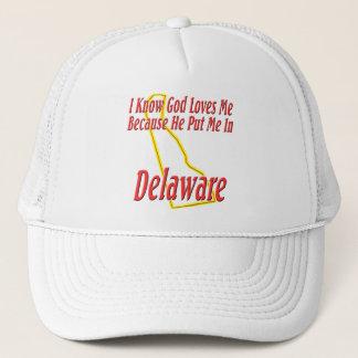 Delaware - guden älskar mig keps