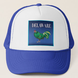 Delaware höna truckerkeps