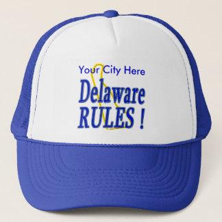 Delaware regler! truckerkeps