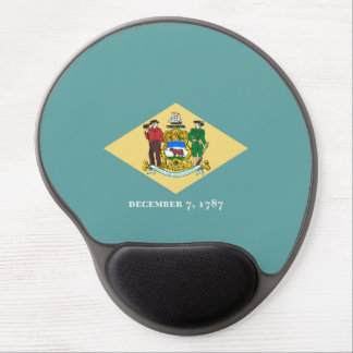 Delaware statlig flaggadesign gel musmatta