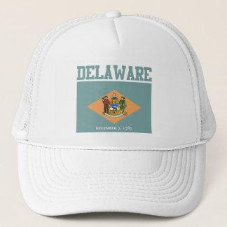 Delaware statlig flaggahattar keps