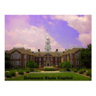 Delaware statlig huvudstad vykort